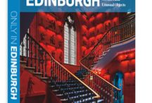 "Only in Edinburgh: A Guide to Unique Locations, Hidden Corners and Unusual Objects / New for 2016! ""Only in Edinburgh"" is a comprehensive illustrated guide to more than 100 fascinating and unusual historical sights in one of Europe's great capital cities. Ancient closes and secret gardens, mysterious monuments and unexpected underworlds, storied graveyards and industrial relics. ""Only in Edinburgh"" guidebook available at www.onlyinguides.com"