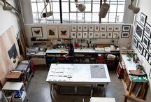 Artist Studios / Collecting ideas
