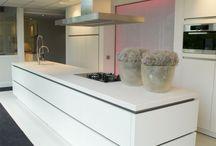 Keuken / Wit blad