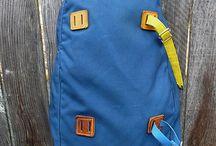 old backpack