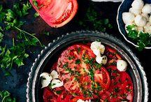 Vegetables, fruits, grains, legumes, pasta, dumplings