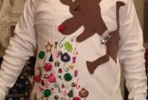 Ugly Christmas Sweaters / by Alicia Neely