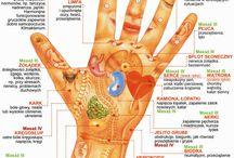 Masaż ręki  a narzady