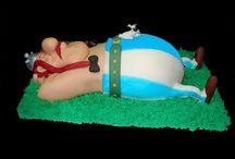 Gâteau Astérix