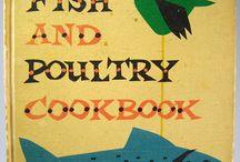 mid century retro recipe book illustrations / inspired by mid century illustrated cook books. / by Alison Bick Design