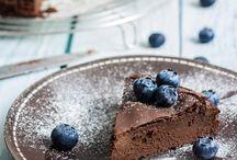Gâteaux Au Chocolat Noir