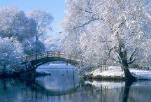 Zimowe krajobrazy / Winter landscapes
