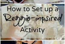 Reggio Inspired / Play space ideas
