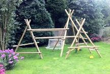 Self-build Climbing frames / DIY climbing frames