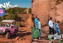 PINK® Jeep® Tours Sedona, Arizona