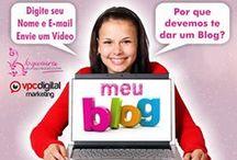 Blogueiras de Sucesso / Pessoas que Querem Receber dicas de um Blog de Sucesso. Gratuitamente de profissionais.