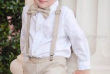 Cute Ring Bearer outfits! / by Heather Freeman Brown