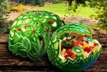 CREATIVE FOOD ART ! / by JOE ACOSTA