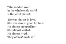 poetry inspo (stories)