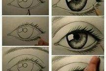 Augen malen