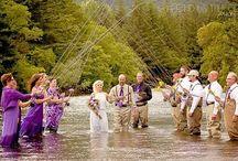 Rybářská svatba inspirace