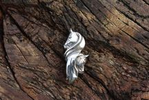 Gill Parker Jewellery / sterling silver equestrian jewellery