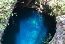 The Pit cenote / ...the biggest cenote in Mexico