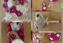 Les Bouquets en Satin / Bouquets de Mariée en Satin