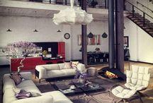 lovely rooms and houses / Inneneinrichtung und schöne Häuser