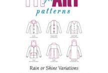 Jacket and coat style elements / Mainly more formal styles in woven fabrics.  For casual knit jackets, see 'Cardigan styles' board.  For embellishment variations use machine embroidery, also Craftsy classes on 'Creative Closures', 'Decorative seams',  'Fashionably Quilted Jacket', 'Sewing on the Edge', 'Sewing Texture'.