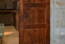 Beautiful Barn Doors / Our handcrafted barn doors are sure to inject country charm into any room in your home. Made to order in rough sawn wood for a rustic look to treasure for years and years.