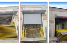 New Jersey Doors with Loading Dock Scissor Lift / There are many times your truck bed heights do not equal your dock heights. To ease the transition of the height differential, we design, supply and install loading dock lifts. Loading dock bay scissor lifts are hydraulic systems and they can work in conjunction with your roll up door or garage door motors. You can even get a skirt around the scissor legs to protect the equipment from debris, rodents and weather elements.   Here are photos of recent jobs.