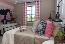 Kid Bedrooms and Playrooms / by Stacy Harrington