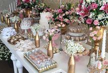 Decoracion mesas cumpleaños