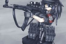 MAG / Military Anime Girls(or just girls with weapons)