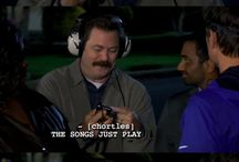 Parks and Rec... / Ron Swanson