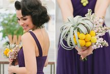 white & green wedding bouquets
