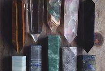 •crystals