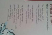 básničky cvičenie