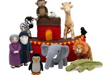 Noahs Ark Knitting / Animals on Noah's Ark / by Knitables