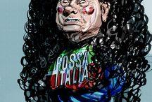 Franco Portinari alias Portos / Illustrations, cartoon and comics