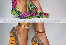 African shoes fashion