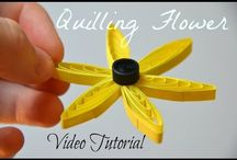 Quilling Comb Flowers