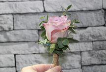 Vintage/Dusty Pink Wedding Flowers