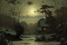 Louis Douzette  / Louis Douzette was a German painter, born in 1834.
