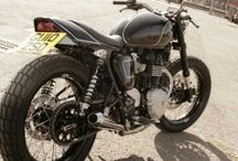 Dirt and flat tracker, / Dirt and flat track motorcycles