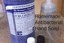 Cleaning and Hand-Washing with Homemade Natural Products