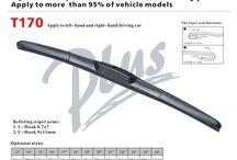 Flat Wiper Blade / ABS flat wiper blade