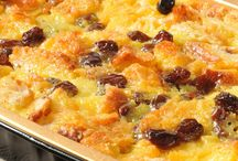 Bread and butter puddings
