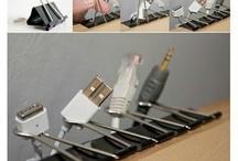 foldback / binder clip heaven <3 / { get everything organized with binder clips }