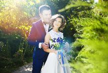 """Свадьба 21.09.14 """"Черничный пирожок"""" / Потрясающая свадьба, с характером жениха и невесты!!"""