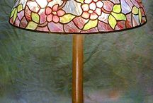 apple blossom tiffany lamp