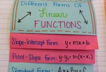 Algebra- Linear Functions / Meaningful ways to learn algebraic concepts