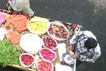 photography / Mobile flower store