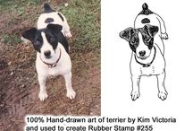 Pet Portraits / I love to do animal portraits for people. I do pen & ink drawings, which can be made into a rubber stamp, and fine art oil paintings.